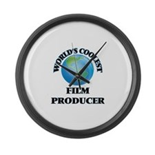 Film Producer Large Wall Clock