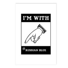 I'm With The Blue Postcards (Package of 8)