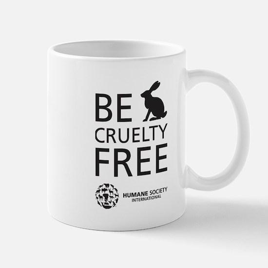 Be Cruelty-Free Bunny Logo Mugs