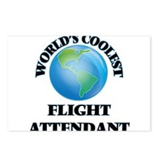 Flight Attendant Postcards (Package of 8)
