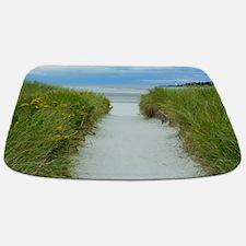 Beach Path to Lighthouse Bathmat
