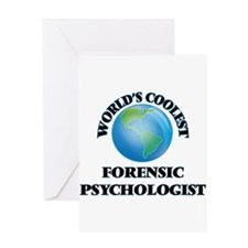 Forensic Psychologist Greeting Cards