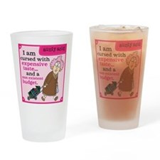 Aunty Acid: Cursed with Expensive T Drinking Glass