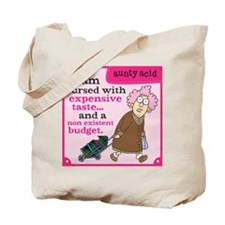 Aunty Acid: Cursed with Expensive Taste Tote Bag