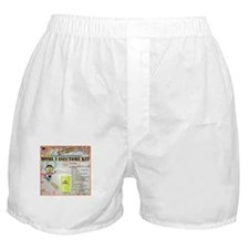 Home Vasectomy Kit Boxer Shorts