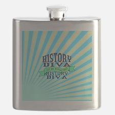 History Diva Flask