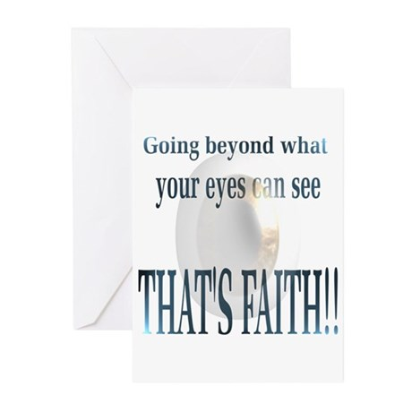Thats Faith!! Greeting Cards (Pk of 10)