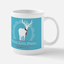 Peace.Love.Parks Mug