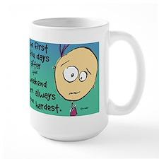 Funny Co-Edikit Weekend - Large Mugs
