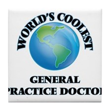 General Practice Doctor Tile Coaster