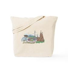 Unique Barcelona Tote Bag