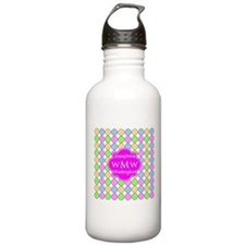 Pink Custom Personaliz Water Bottle
