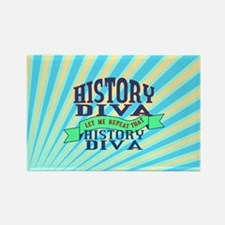 History Diva Magnets