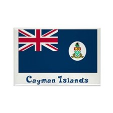 Cayman Island Flag Rectangle Magnet