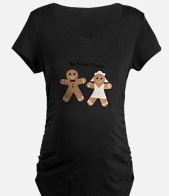 The Gingerbreads Maternity T-Shirt