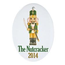 The Nutcracker 2014 Ornament (oval)