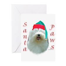 Cute Polish lowland sheepdog dog breed Greeting Cards (Pk of 20)