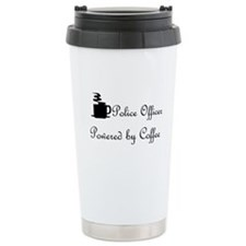 Police woman Travel Mug