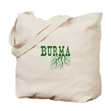 Burma Roots Tote Bag