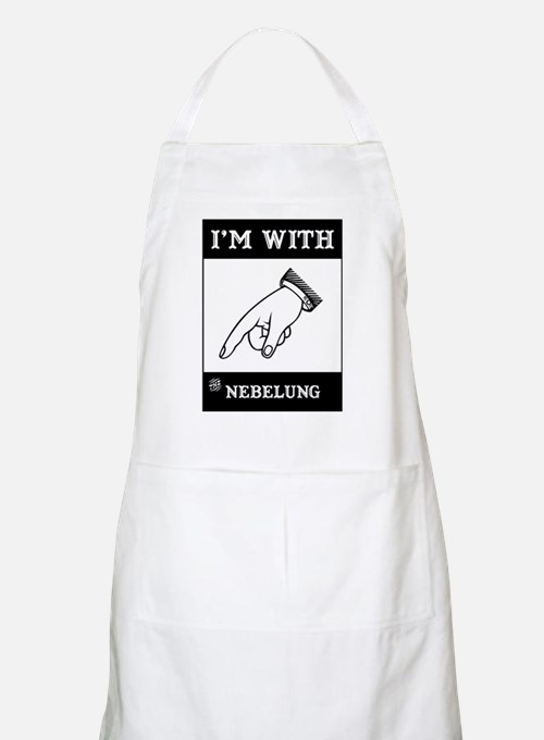I'm With The Nebelung BBQ Apron