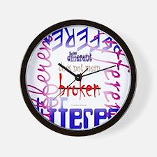 Not Broken Wall Clock