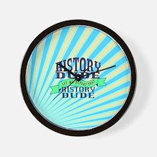 History Dude Wall Clock