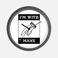 I'm With The Manx Wall Clock