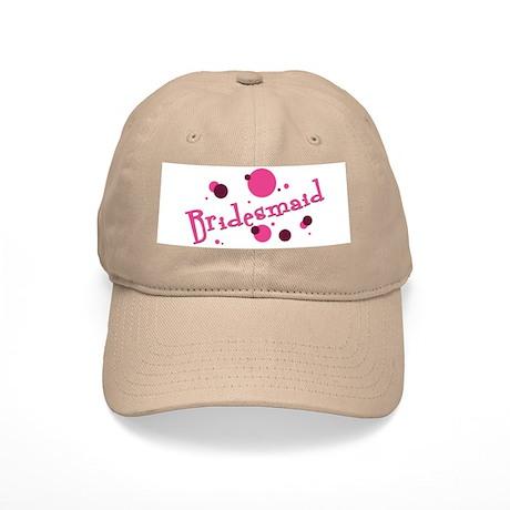 Retro Bridesmaid Baseball Cap Khaki