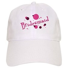 Retro Bridesmaid Favors Baseball Baseball Cap