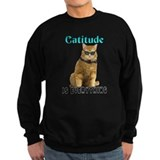 Animals cats Sweatshirt (dark)