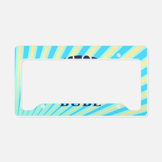 History Dude License Plate Holder