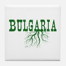 Bulgaria Roots Tile Coaster