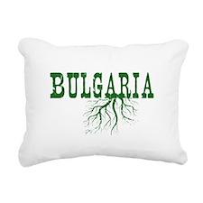 Bulgaria Roots Rectangular Canvas Pillow