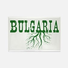 Bulgaria Roots Rectangle Magnet