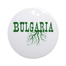 Bulgaria Roots Ornament (Round)