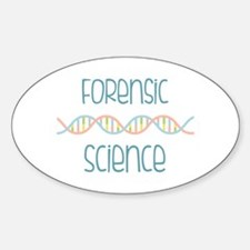Forensic Science Decal