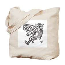 Celtic Knotwork Owl Tote Bag