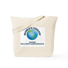 Higher Education Administrator Tote Bag