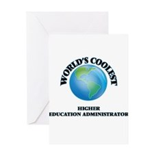 Higher Education Administrator Greeting Cards