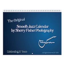 Smooth Jazz Wall Calendar Ver. 15