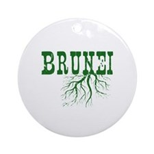Bruneian Roots Ornament (Round)
