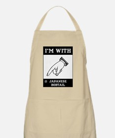 I'm With The Bobtail BBQ Apron