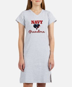 Cute Navy brother Women's Nightshirt