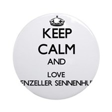 Keep calm and love Appenzeller Se Ornament (Round)