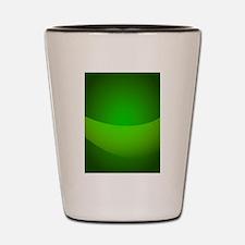 Green Pocket Shot Glass