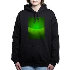 Green Pocket Women's Hooded Sweatshirt