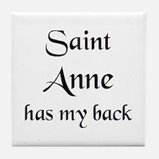 saint anne Tile Coaster