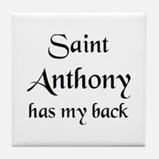 saint anthony Tile Coaster