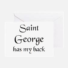 saint george Greeting Card