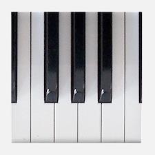 Keyboard 7 Tile Coaster